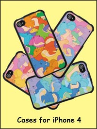 happy hippo iPhone cases